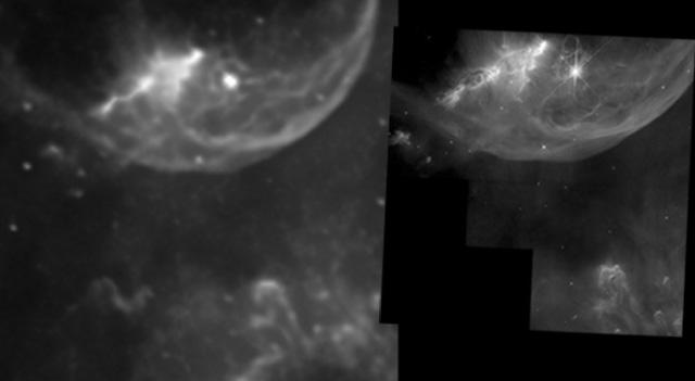 hubble curdridge bubble nebula