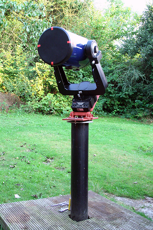 meade lx200 on wedge
