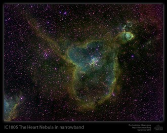 IC1805 Heart Nebula