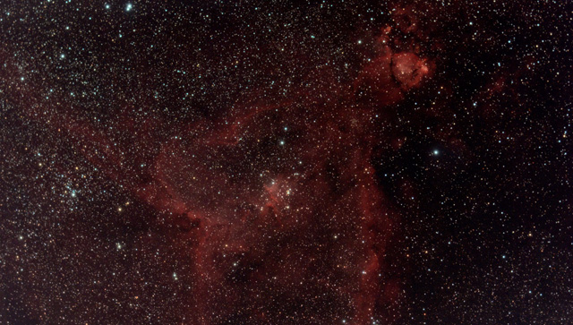 IC1805 Heart Nebula New Forest Observatory mini-wasp
