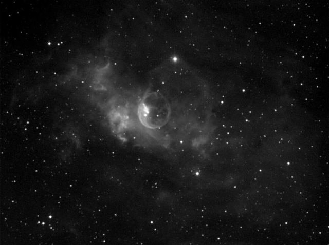 bubble nebula NGC 7635
