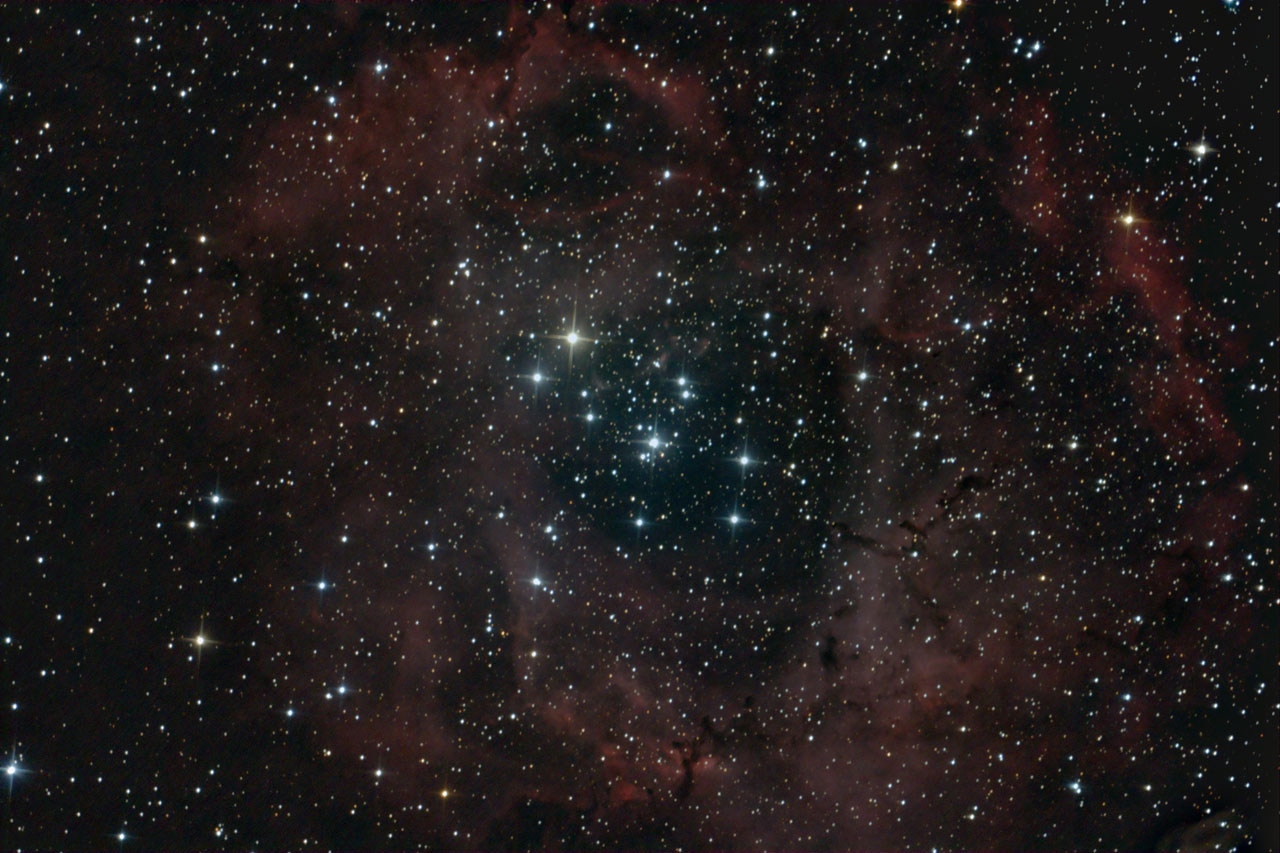 Veiw full sized image of Rosette nebula
