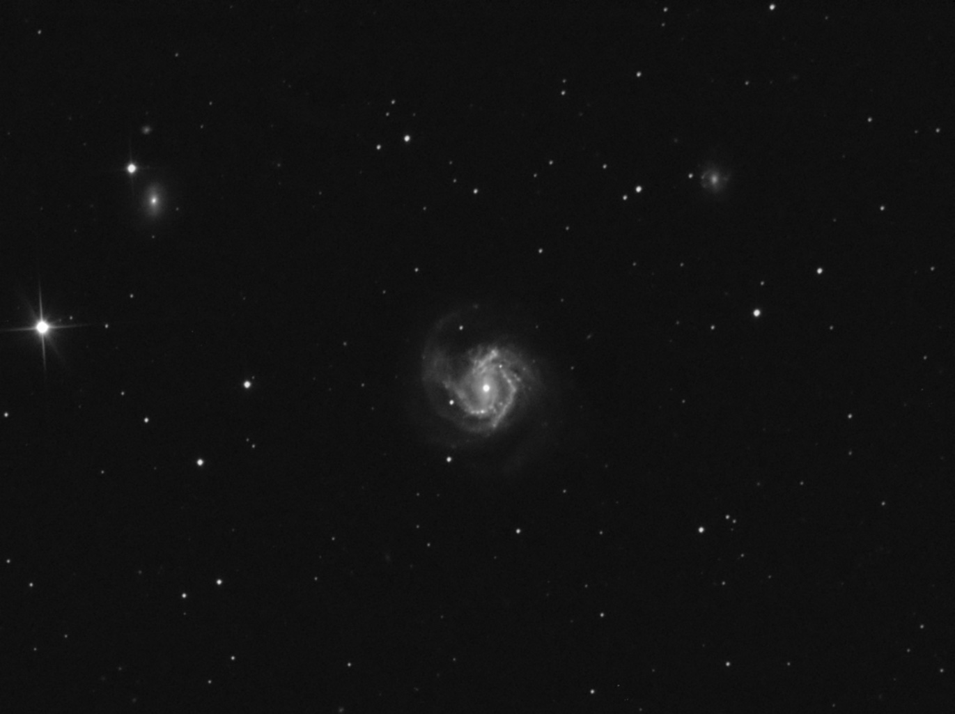 M61 Messier M61 SBbc  Barred Spiral Galaxy