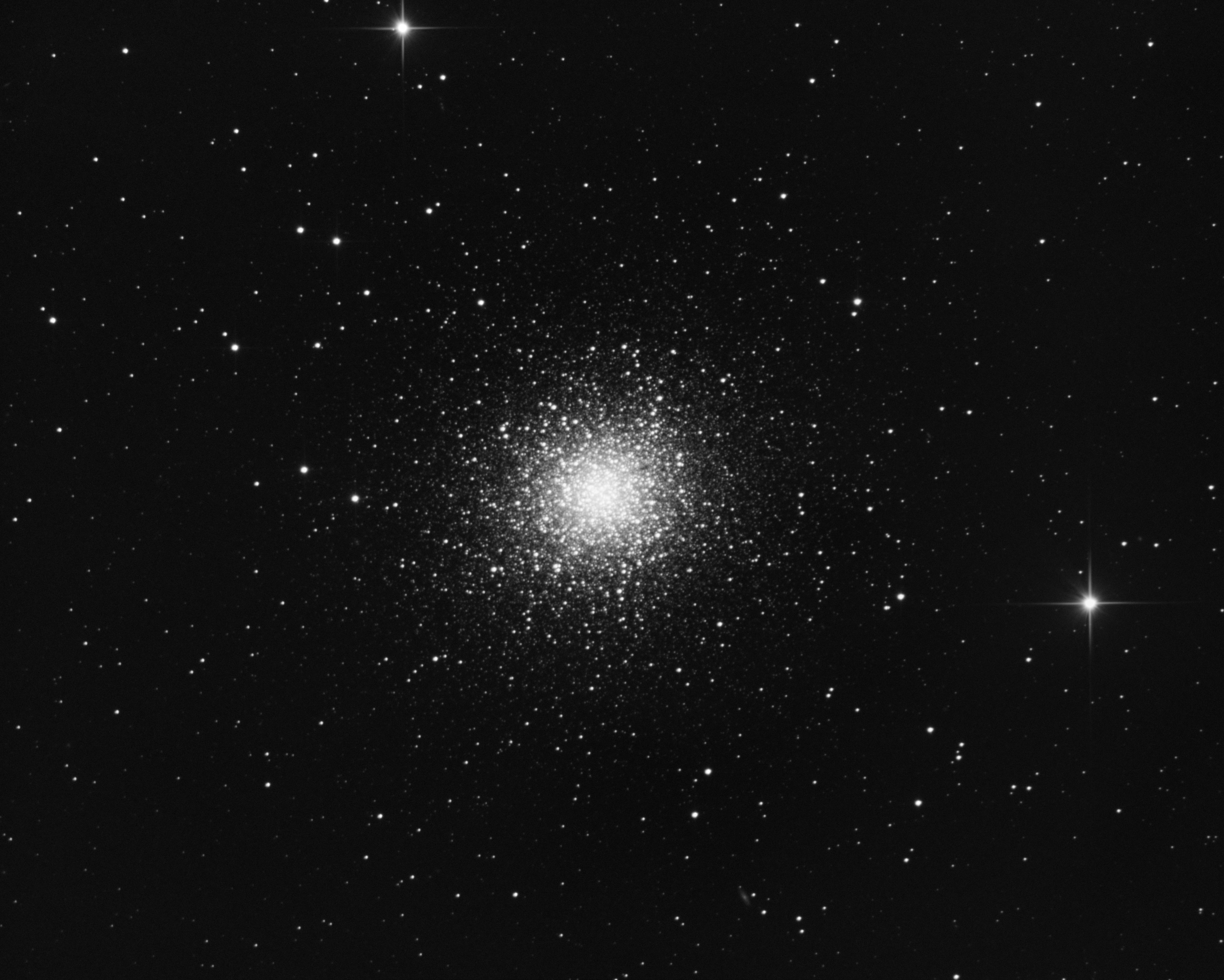 Veiw full sized image of Hercules Great Cluster M13