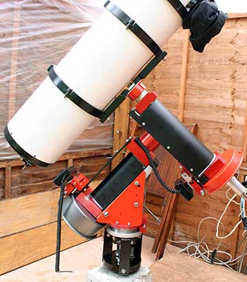 early picture of telescope mount