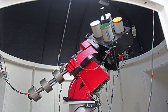 New forest observatory party