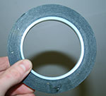 a roll of polyester anodising masking tape